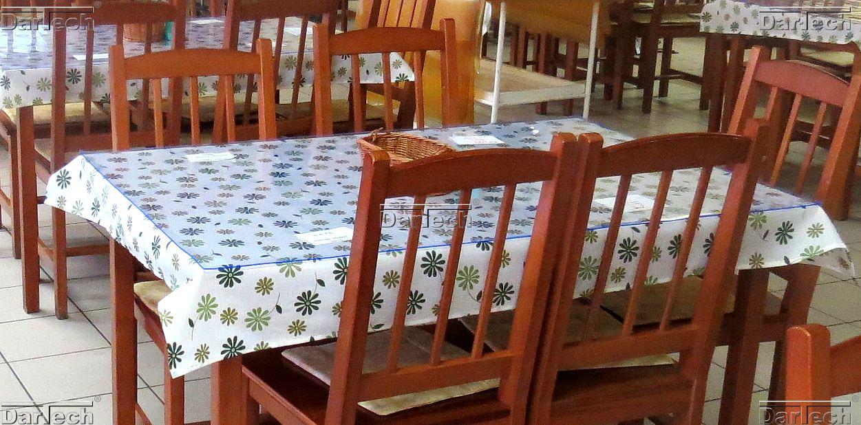 Asztalvédő PVC lap